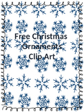 Free Christmas Ornaments Clip Art