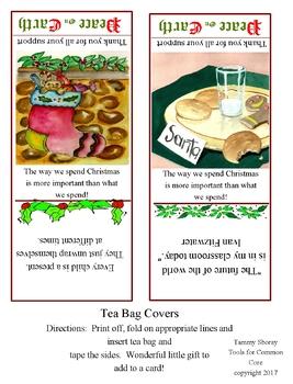 Free Christmas Parent Gift-Tea Bag Covers