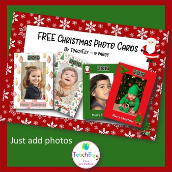 Free Christmas Photo Cards 2017