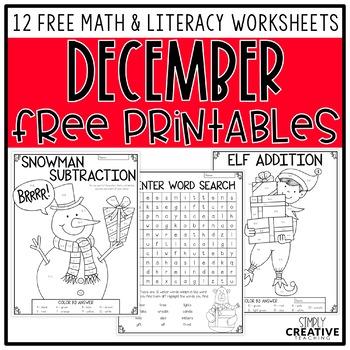 Free Christmas Printable Presents