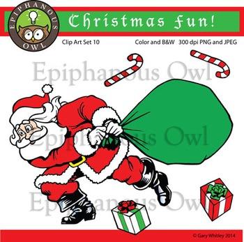Free Christmas Santa Clip Art