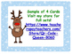 Free Christmas Task Cards with Division/Multiplication Wor