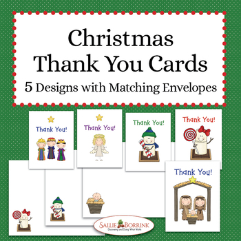 Free Christmas Thank You Cards