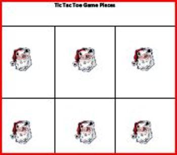 Free Christmas Tic Tac Toe