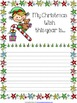 Free Christmas Pages & Note Cards