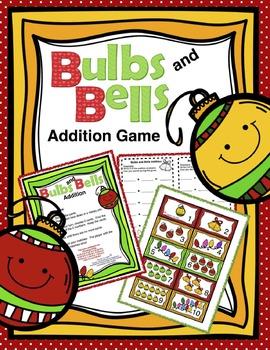 Christmas Math Activities Kindergarten 1st Grade 2nd Grade FREE