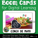 Free Cinco de Mayo Emergent Reader Boom Cards for Distance