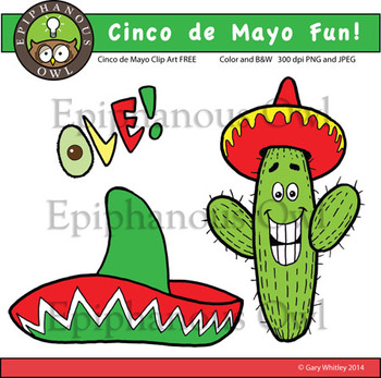 Free Cinco de Mayo Fun Clip Art