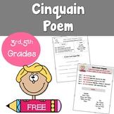 Free Cinquain Poetry Pack
