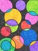 Free Circle Art Activity: Perfect for Pi day! (Grade 6-8)