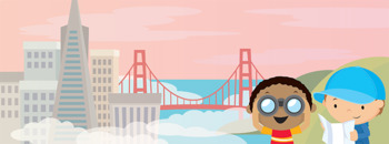 Free City Scene Clip Art and Facebook Cover Photo