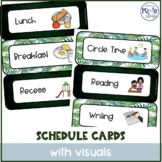 Daily Class Schedule Cards With Pictures