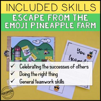 Classroom Community Team Building Activity   Free Escape Room Game