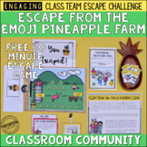 Classroom Community Team Building Activity | Free Escape Room Game