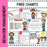 Behavior Management Freebie: Management Poems and Chants F