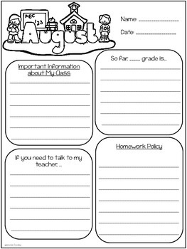 Free Classroom Newsletter Templates {Student Created Newsletters}