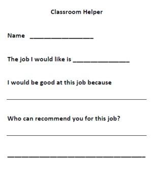 Free Classroom Resume