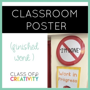 Free Classroom Sign