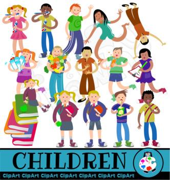 Free Clip Art Children