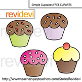 Free Clip Art Cupcakes by Revidevi