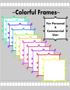 Free- Clip Art Frames