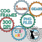 Clip Art   Frames   Cog png frames  Gears   For Commercial Use
