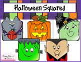 Free Clip Art: Halloween Blockheads