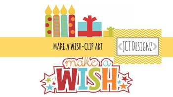 Free Clip Art- Party, Make a Wish, Birthday Clip Art.