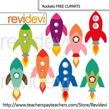 Free Clip Art - Rocket Clipart
