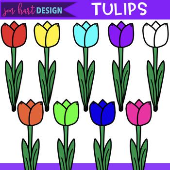 Free Clip Art - Tulips {jen hart Clip Art}