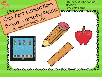 Clip Art - Graphics - Free - Variety Pack
