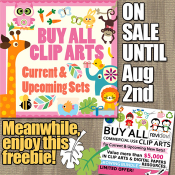 Free Clip Art and Big Sale for Growing Bundle Buy Everything From My Store
