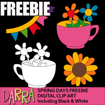 Free Clip Art for Spring Activities