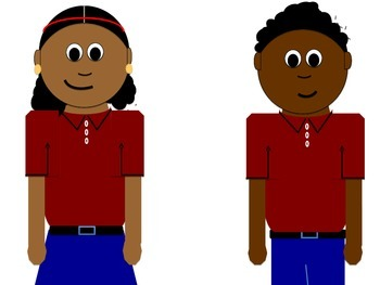 Free Clipart: African American Students