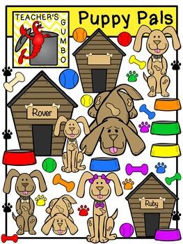 Puppy Pals Clipart