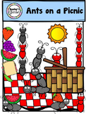 Ants on a Picnic Clipart