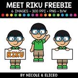 Free Clipart Kid 4