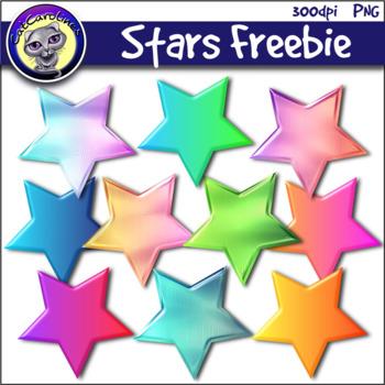 Stars Clip Art Freebie