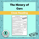 Free Cloze Passage-The History of Cars
