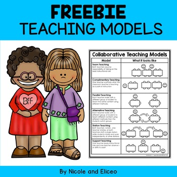 Reference Materials - Collaborative Teaching Models
