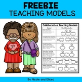 FREE Collaborative Teaching Models Handout