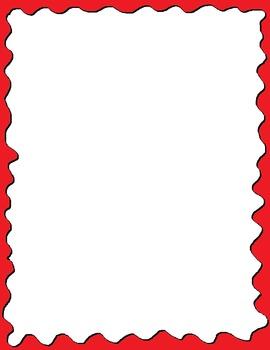 Free Color Blobs Border Bundle
