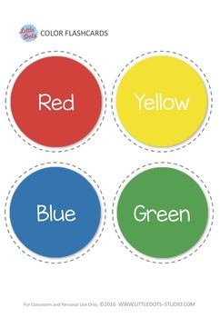Free Color Flashcards