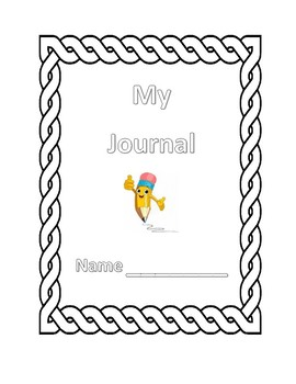 Free Color In Journal Cover