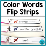 Free Color Words Work Task for Special Education and Autism