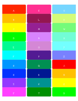 Free Colored Library Spine Labels