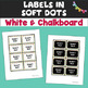 Free Editable 2X3 Labels in Soft Chevron and Dots