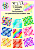Free Colorful Button Backgrounds for Commercial & Personal Use