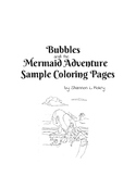 Free Coloring Pages for Bubbles and the Mermaid Adventure