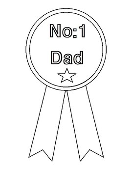 Free Coloring Pages for Father's Day
